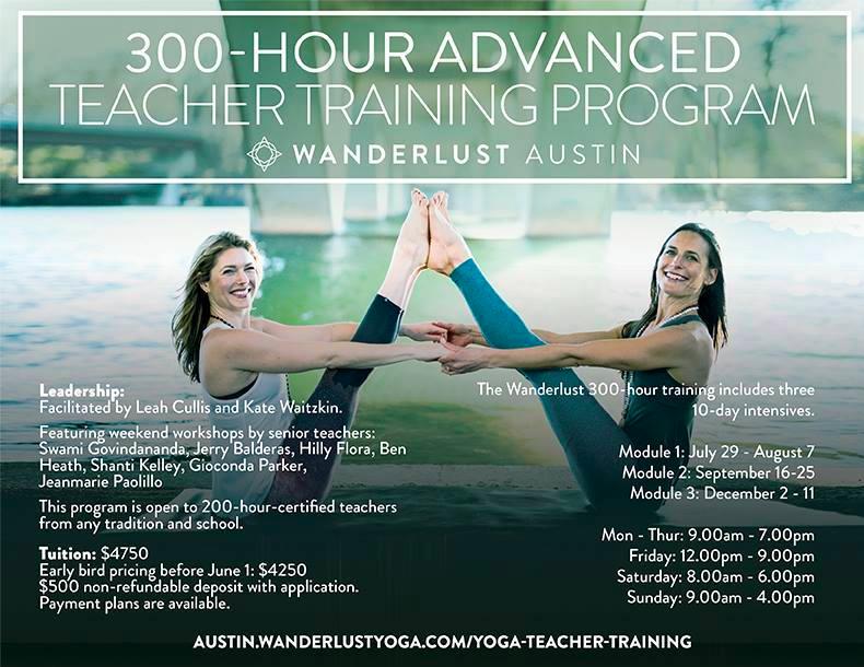 Wanderlust 300 Hour Teacher Training Program
